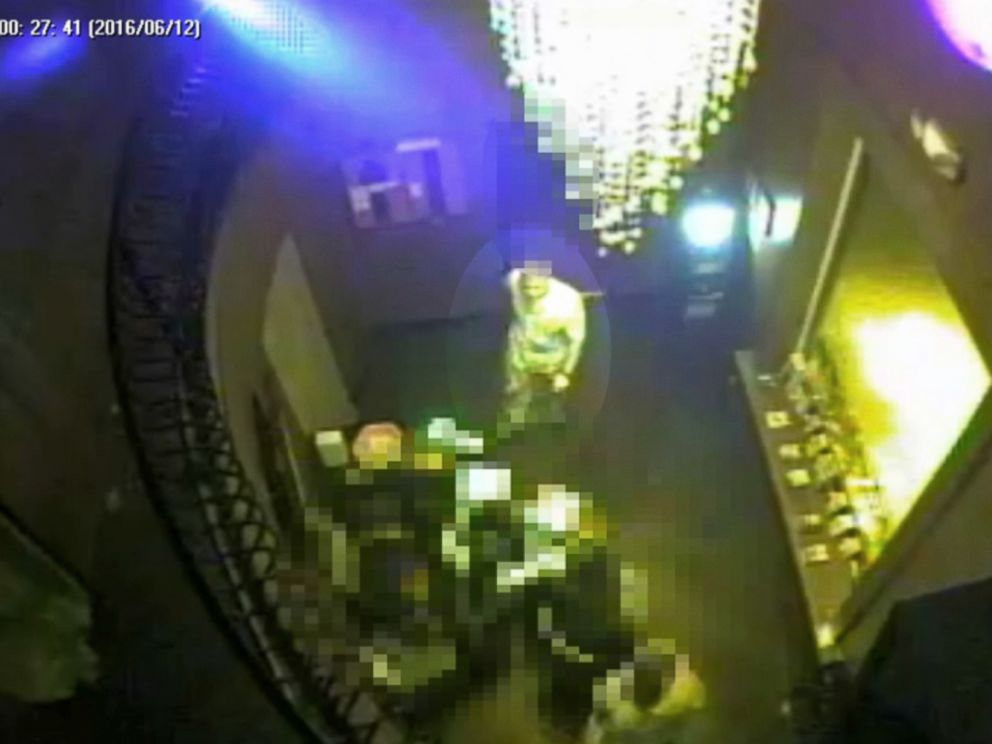 PHOTO: Surveillance footage shows Pulse nightclub shooter Omar Mateen entering the club on the night of June 12, 2016, in Orlando, Fla.