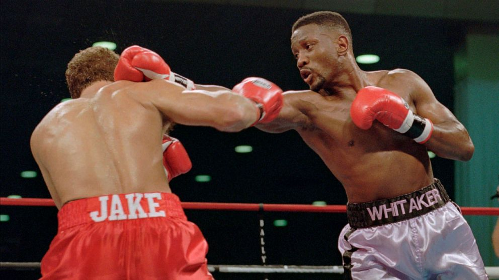 Former boxing champ Pernell 'Sweet Pea' Whitaker fatally struck by car thumbnail