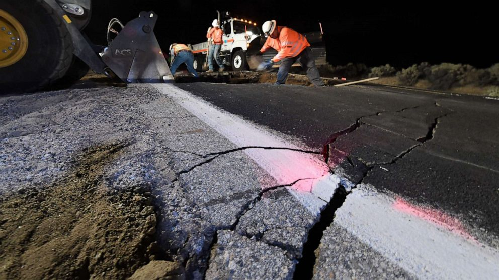Earthquake-rattled Southern California braces for more