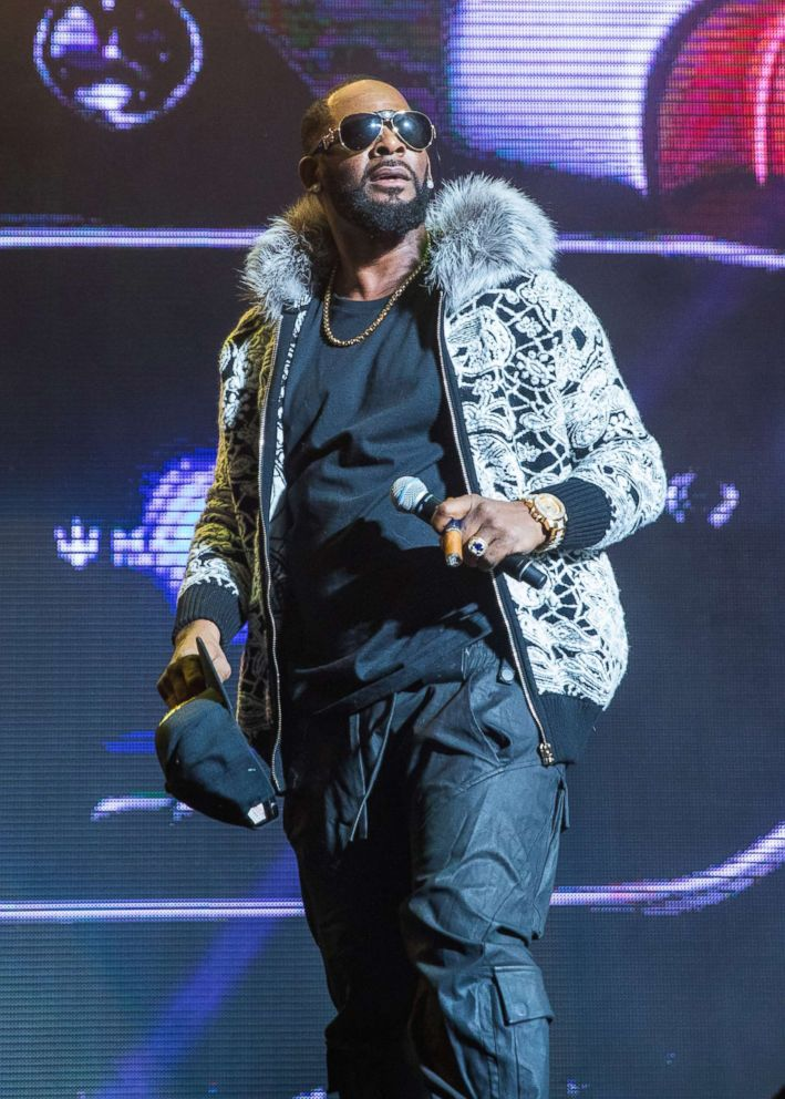 PHOTO: R. Kelly performs at Little Caesars Arena in Detroit, Feb. 21, 2018.
