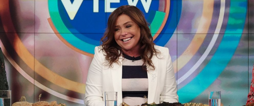 """PHOTO: Rachael Ray opens up on """"The View"""" about why she wrote her mini memoir """"Rachael Ray 50"""" on Oct. 15, 2019."""