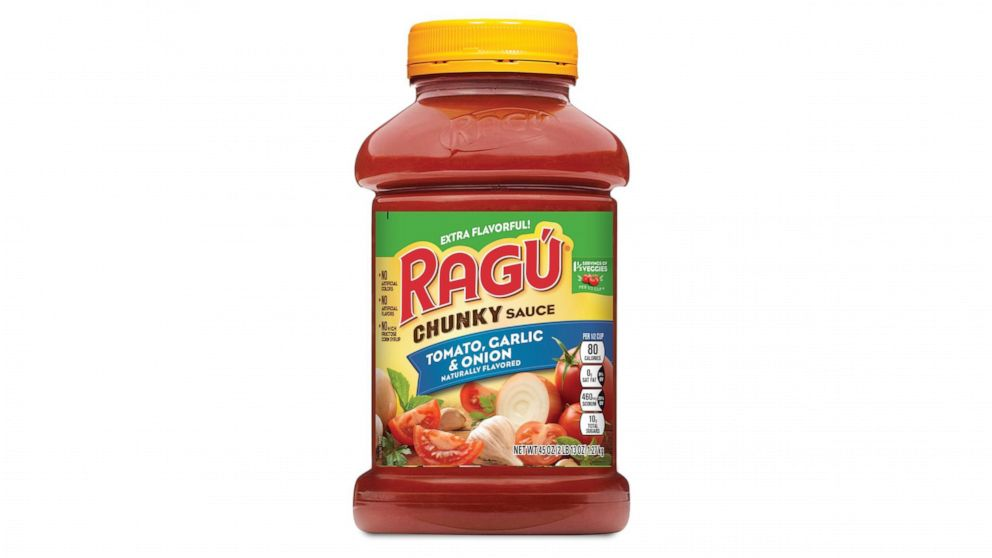 Recalled Ragu pasta sauce may be contaminated with plastic, company says thumbnail