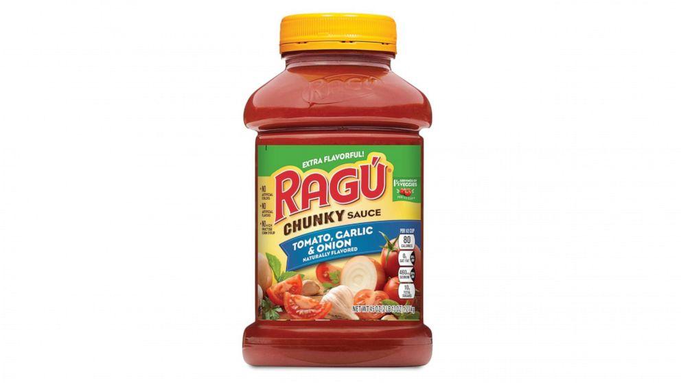 Recalled Ragu pasta sauce may be contaminated with plastic, company says thumbnail