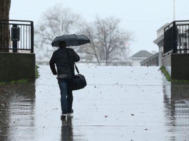 Atmospheric river brings record rains snow to California