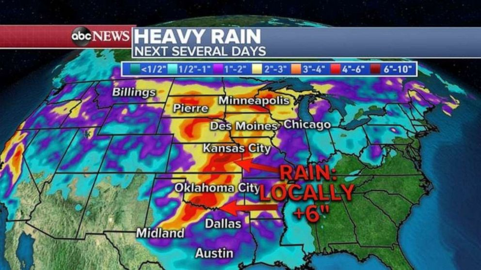DFW Weather: North Texas Drenched With Heavy Rain, Severe Storms Saturday Afternoon