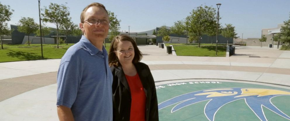 PHOTO: Megan Gross has helped Greg Carlson overcome his learning disability and excel in the classroom at Del Norte High School.