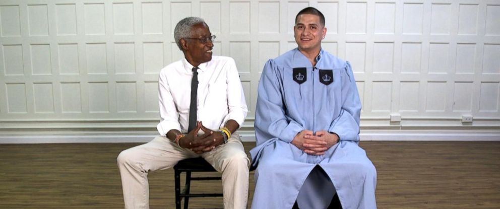 PHOTO: Professor Robert Fullilove taught Richard Gamarra behind bars and at one of the countrys top universities.
