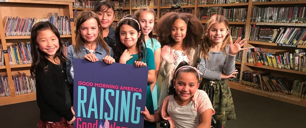 "PHOTO: ""GMA"" spoke with girls between the ages of 7 and 10 at Marin Primary and Middle School in Californias Bay Area to discuss growing up in the post #MeToo era as part of the ""Raising Good Women"" series."
