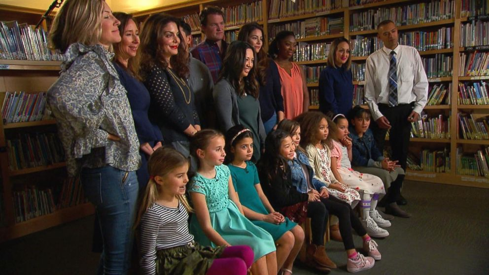 PHOTO: GMA spoke with girls between the ages of 7 and 10 at Marin Primary and Middle School in Californias Bay Area to discuss growing up in the post #MeToo era as part of the Raising Good Women series.
