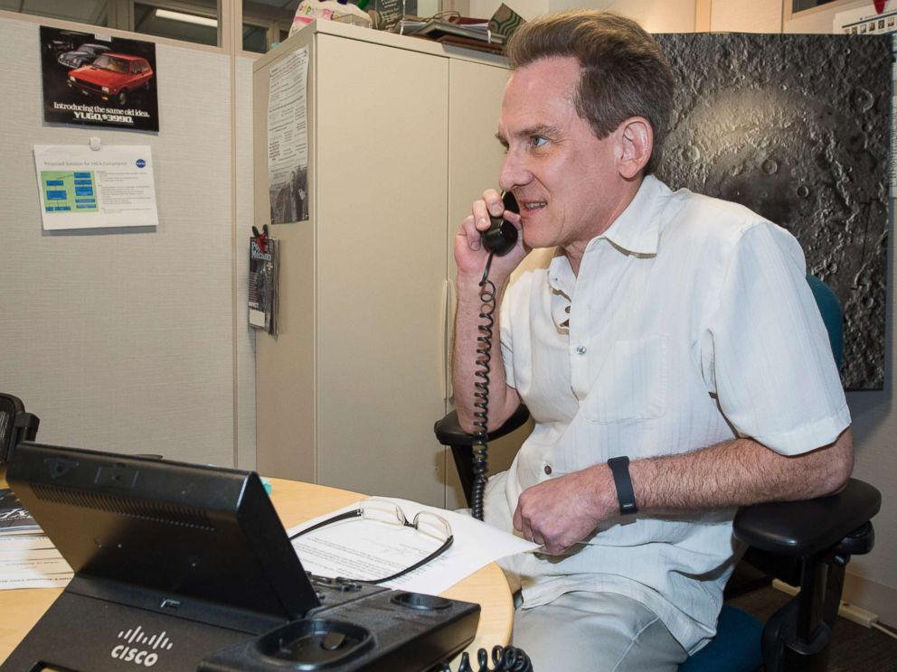 PHOTO: NASA's Planetary Research Director, Jonathan Rall, called 9-year-old Jack Davis Friday to congratulate him on his interest in working for NASA.
