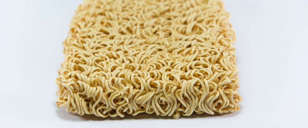 PHOTO: Dried ramen noodles are pictured in an undated stock photo.