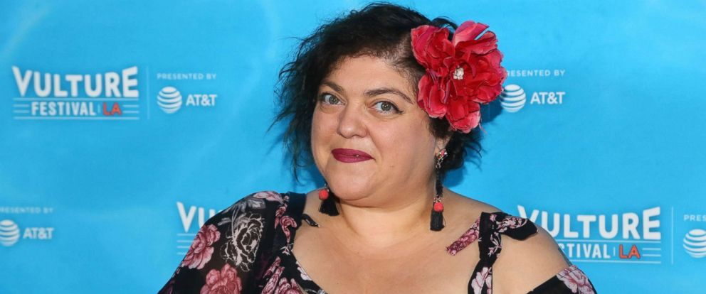 PHOTO: Randa Jarrar arrives for Vulture Festival Los Angeles at Hollywood Roosevelt Hotel in Hollywood in this Nov. 18, 2017 file photo.
