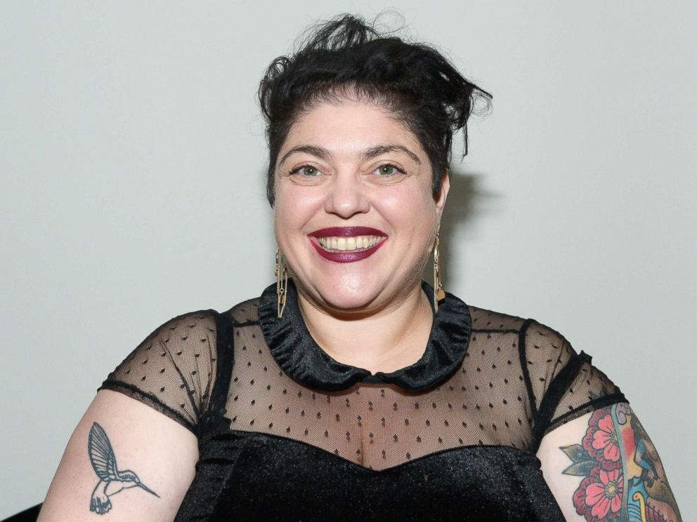 PHOTO: Randa Jarrar attends The Secret Society Of The Sisterhood at The Masonic Lodge at Hollywood Forever on Jan. 31, 2018 in Los Angeles.
