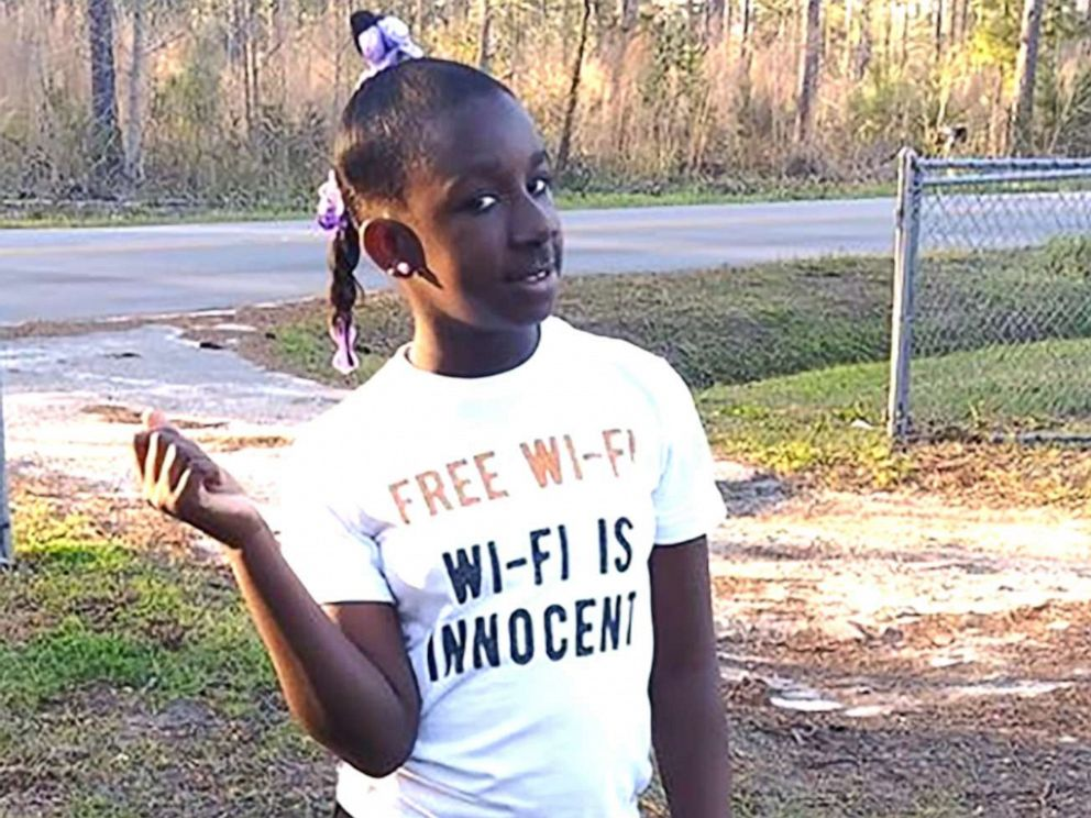 PHOTO: RaNiya Wright, a fifth-grade student at Forest Hills Elementary School is pictured in this undated photo provided by her family.