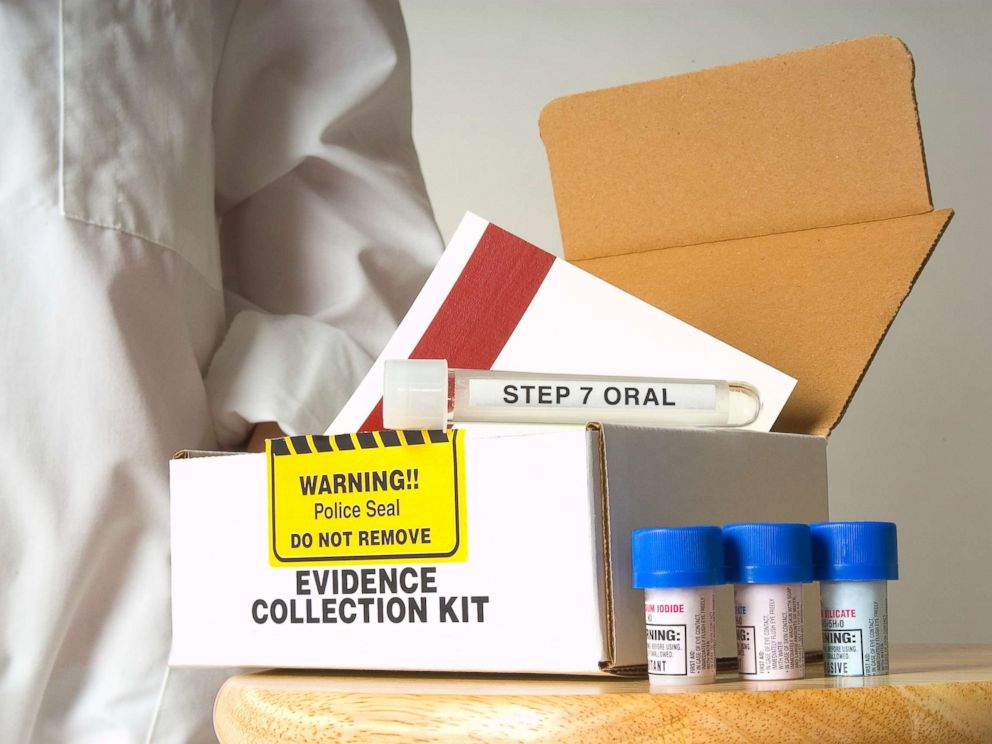 PHOTO: In this stock photo an evidence collection kit used for rapes is pictured.