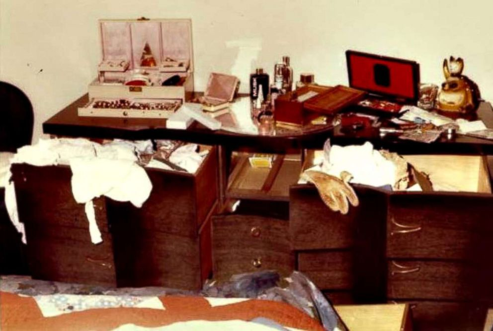 PHOTO: Ransacked drawers after an attack by the Golden State Killer.