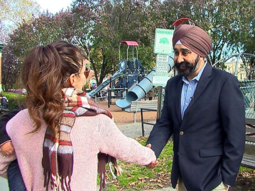 PHOTO: Ravi Bhalla was born in New Jersey and has served on the Hoboken city council since 2009.
