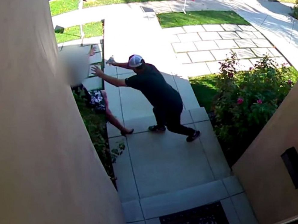 PHOTO: Police are looking for a man who assaulted a realtor at an open house in Encino, Calif., on Sunday, Sept. 22, 2019.