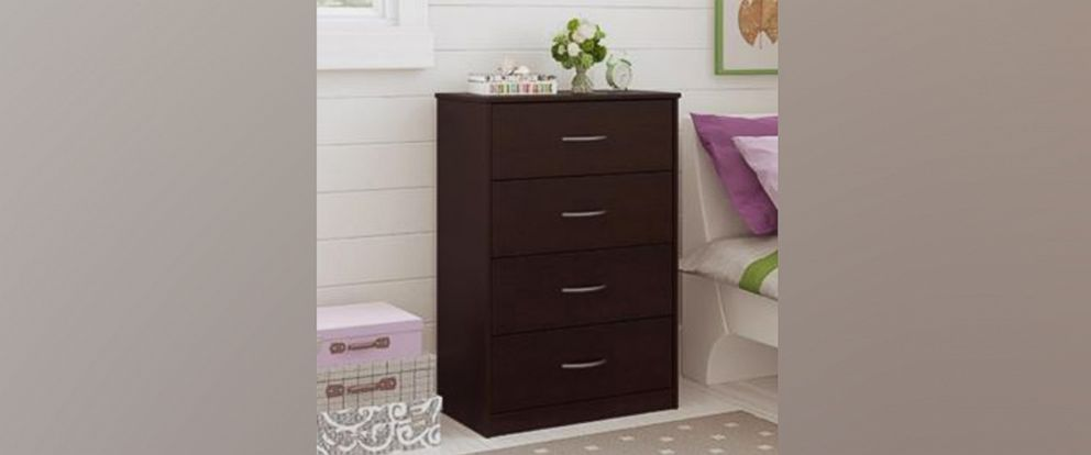 Photo Ameriwood Home Has Recalled Over 1 Million 4 Drawer Chests Due To Tipping And