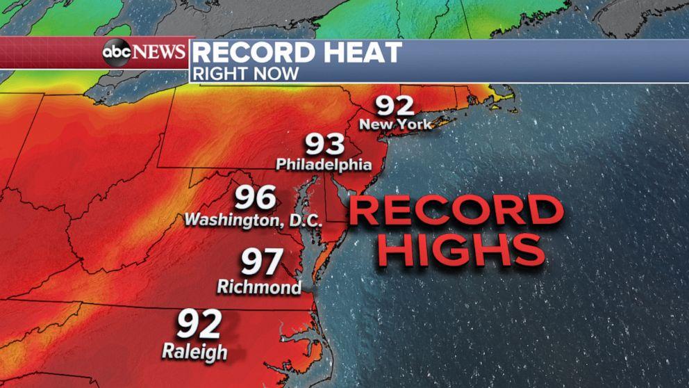 PHOTO: Record Heat