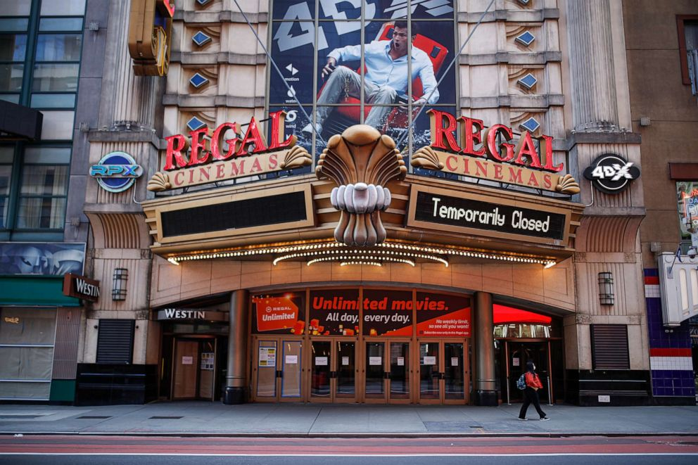 Struggling Movie Theaters Consider Reopening Measures Abc News