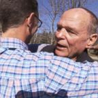 Tom Nuveman met his biological son, Jim Hayes, for the first time this year after the pair found each other following an Ancestry.com DNA test.