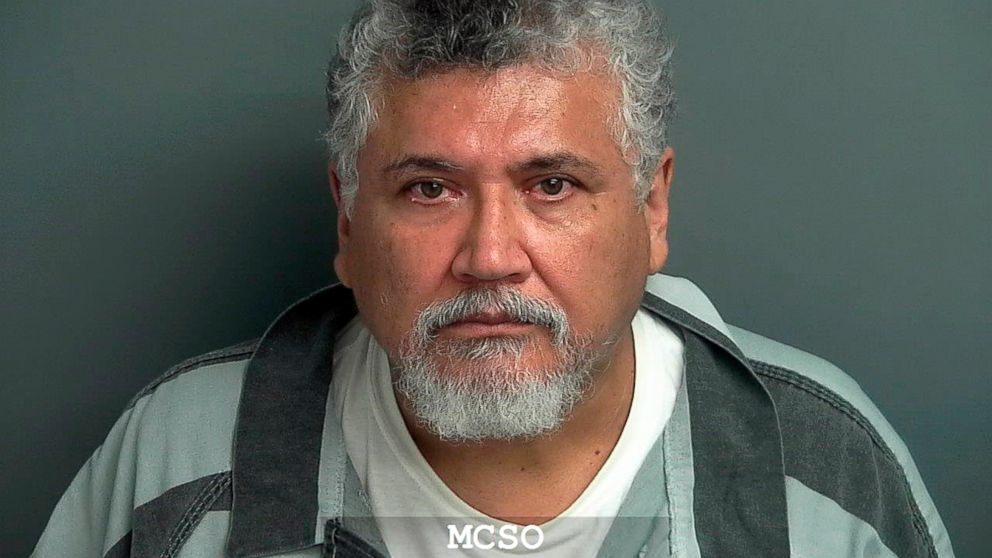 Rev. Manuel La Rosa-Lopez is pictured in an undated booking photo released by the Montgomery County Sheriff's Office.