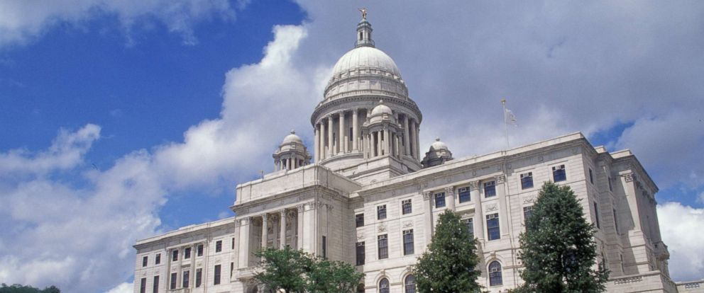 PHOTO: In this file photo shows the Rhode Island State Capitol, April 11, 2008, in Providence, R.I.