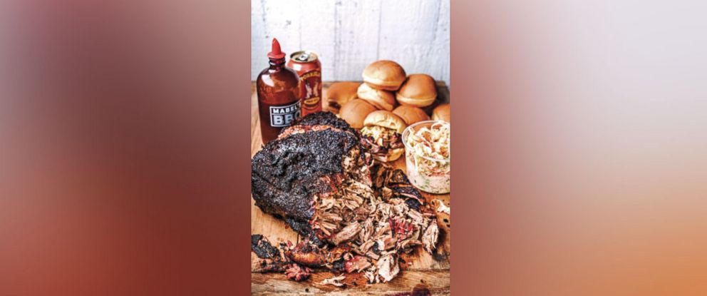 """PHOTO: Chef Michael Symon shares his recipe for """"Mabels Pork Ribs,"""" photographed here, in his new book, """"Michale Symons Playing With Fire."""""""