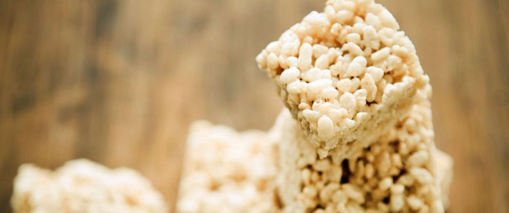 PHOTO: Puffed rice dessert treats are seen this undated stock photo.