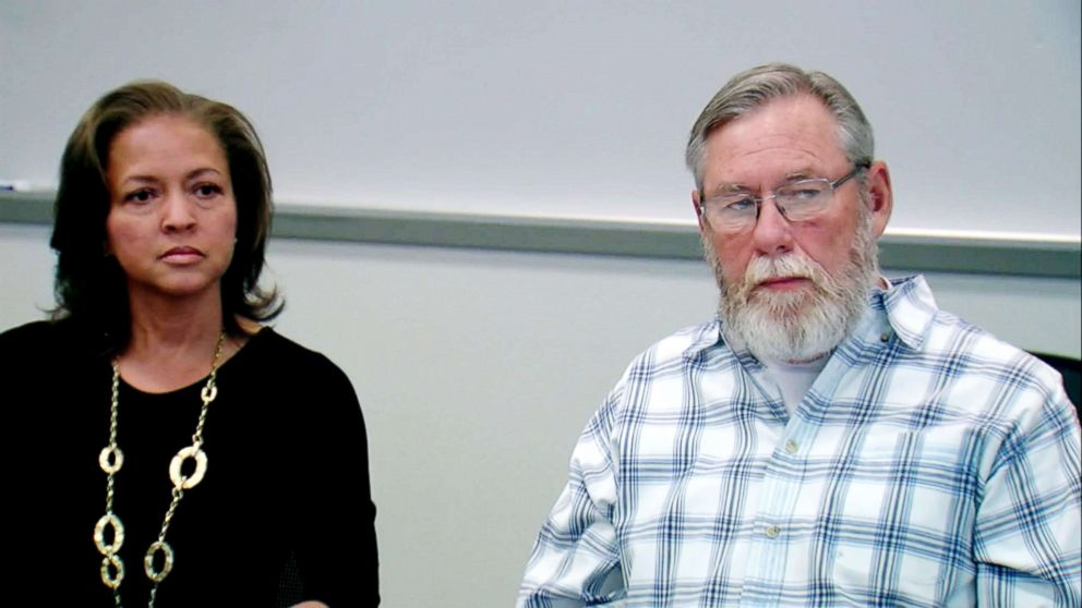 PHOTO: Dr. Connie Jones appears at an interview with her husband, Rick Anglin, in this still made from video.