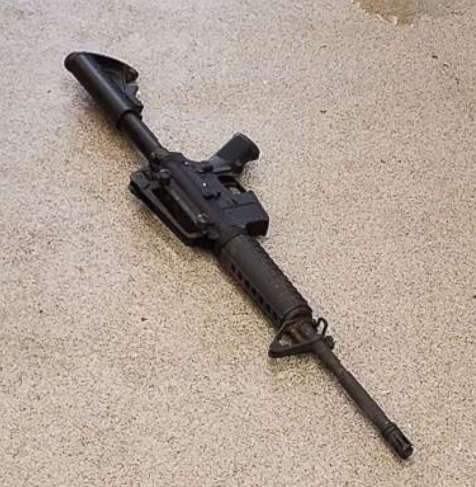 PHOTO: Metro Nashville Police Department released this photo of rifle used by gunman at Waffle House shooting near Nashville, Tenn., April 22, 2018.