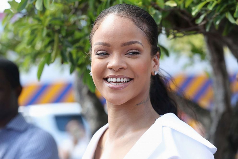 PHOTO: Rihanna attends the Man Aware event held by the Barbados National HIV/AIDS Commission on Dec. 1, 2016 in Bridgetown, Barbados.