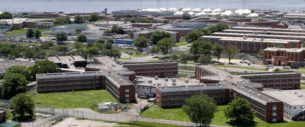 PHOTO: Rikers Island jail complex in New York.