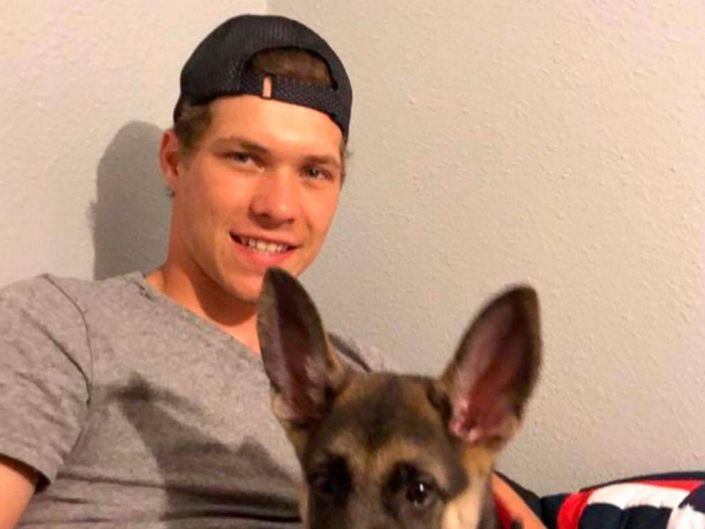 PHOTO: Riley Kuznia at his familys home in Karlstad, Minn.