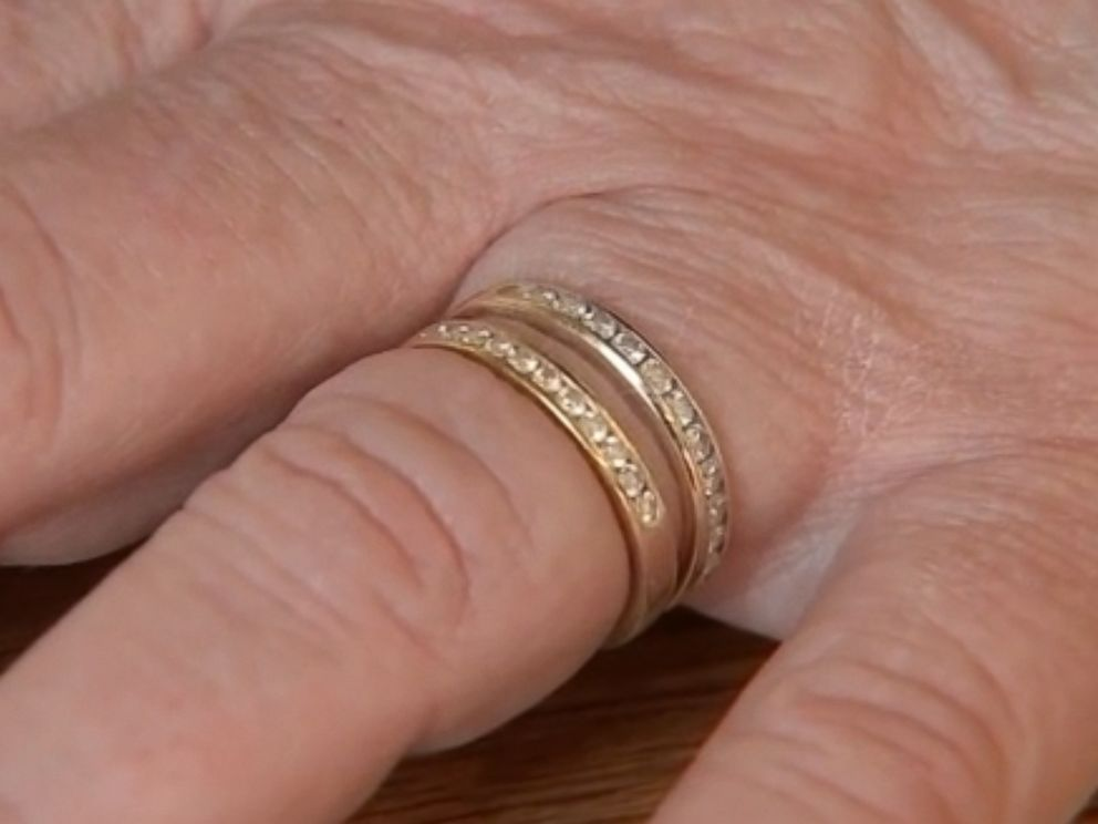 PHOTO: Paula Stantons wedding ring was recovered nine years after she accidentally flushed it down the toilet.