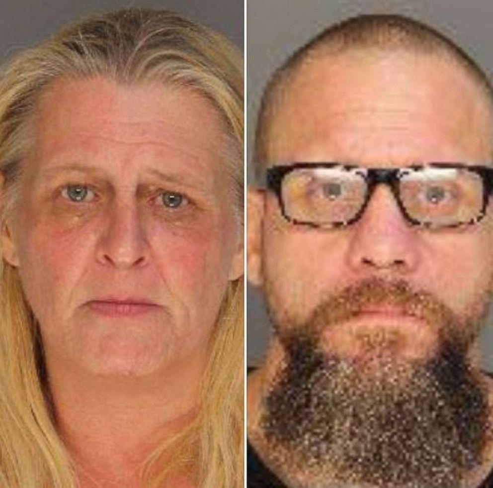 PHOTO: Rita Pangalangan, 49, and Larry King, 41, were arrested in connection with the death of a 13-year-old girl in a hot car on Monday, Aug. 5, 2019, in Colleton County, S.C.