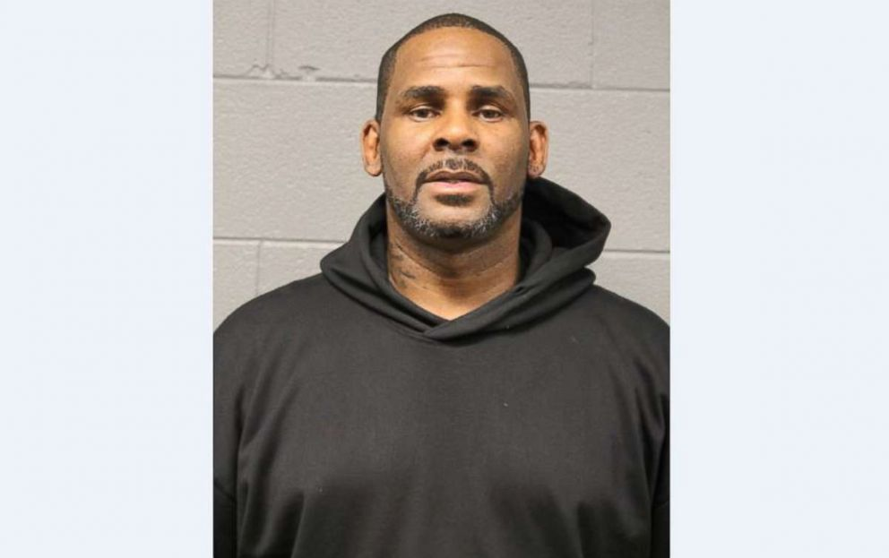 PHOTO: R. Kelly, seen in his mugshot after surrendering to Chicago police on Friday, Feb. 22, 2019, has been indicted on 10 counts of felony criminal sexual abuse.