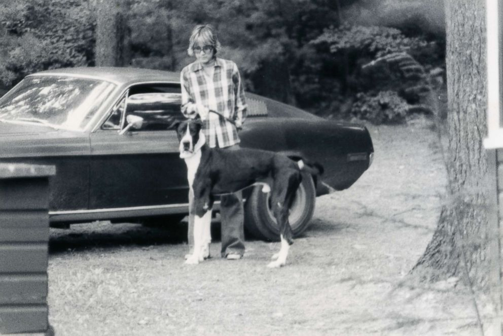 PHOTO: Robbie Kiernan shown with the Mustang in 1977 in Upstate New York.