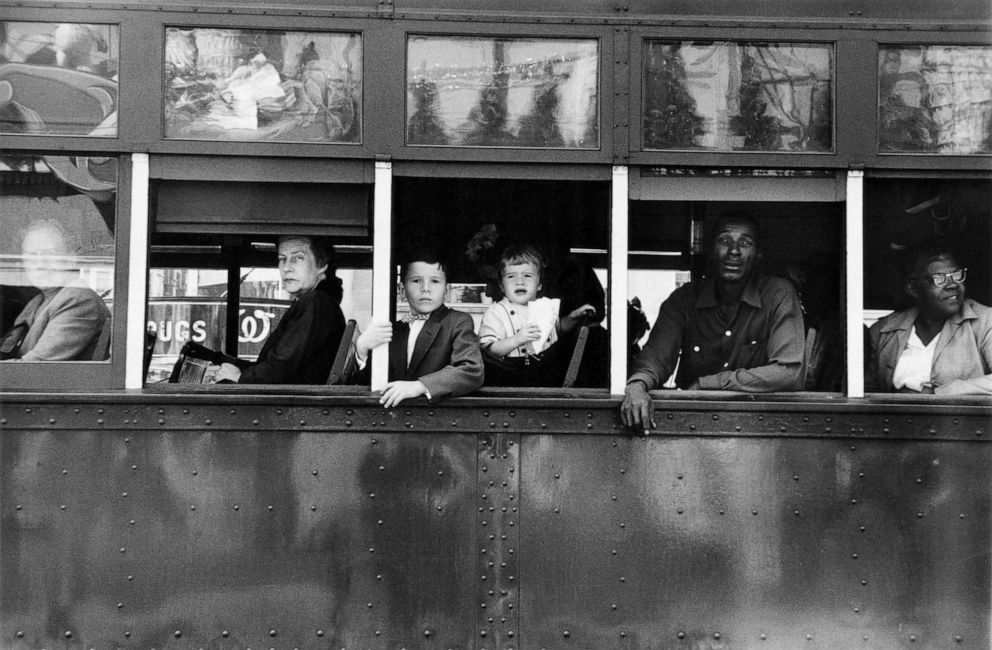 PHOTO: Trolley, New Orleans, 1955.
