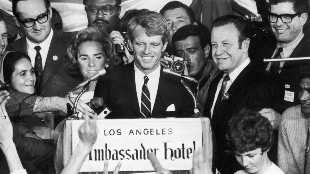 50 Years After Shots Rang Out At The Ambassador Hotel Controversy Still Surrounds Rfk S Assassination Abc News