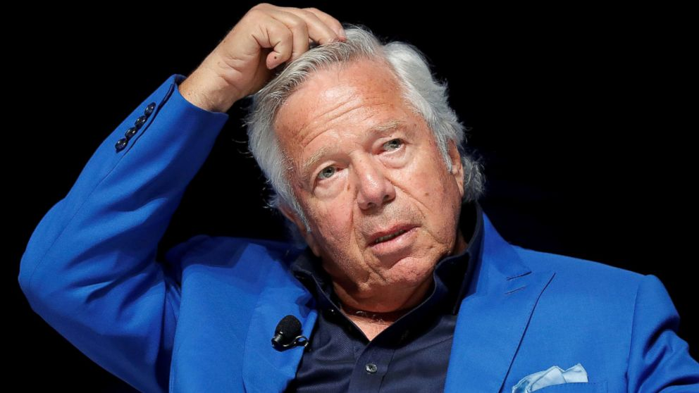 New England Patriots owner Robert Kraft attends a conference at the Cannes Lions Festival in Cannes, France, June 23, 2017.