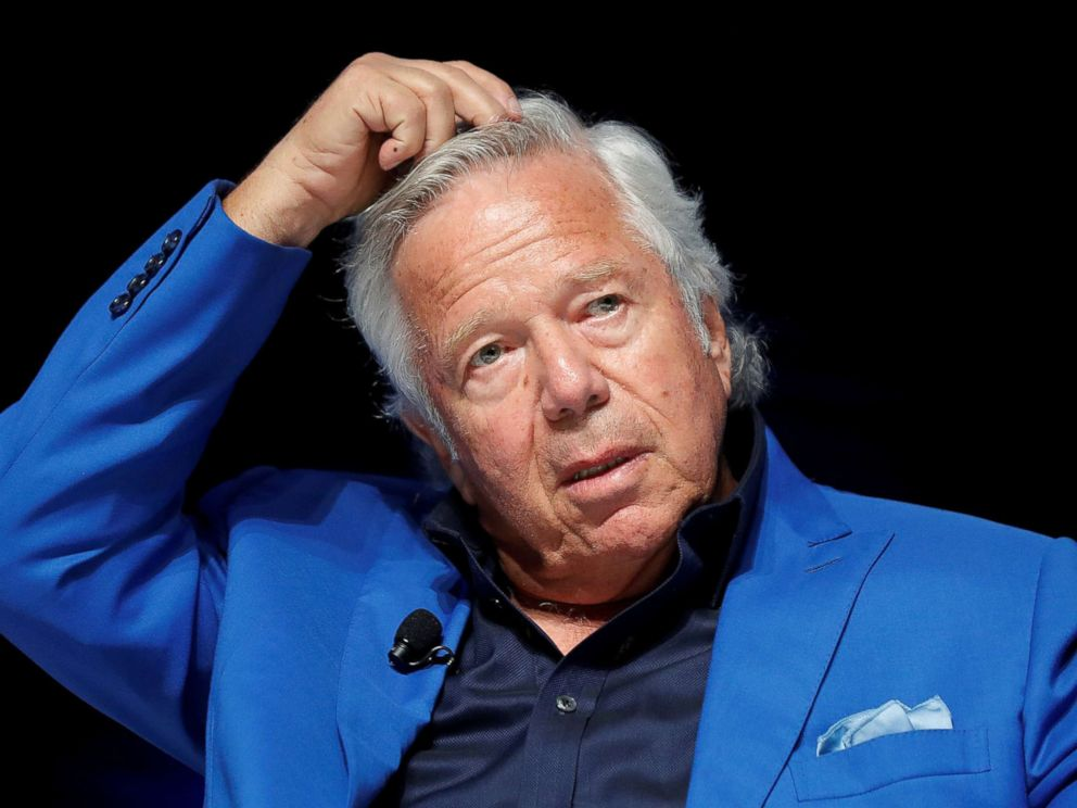 PHOTO: New England Patriots owner Robert Kraft attends a conference at the Cannes Lions Festival in Cannes, France, June 23, 2017.
