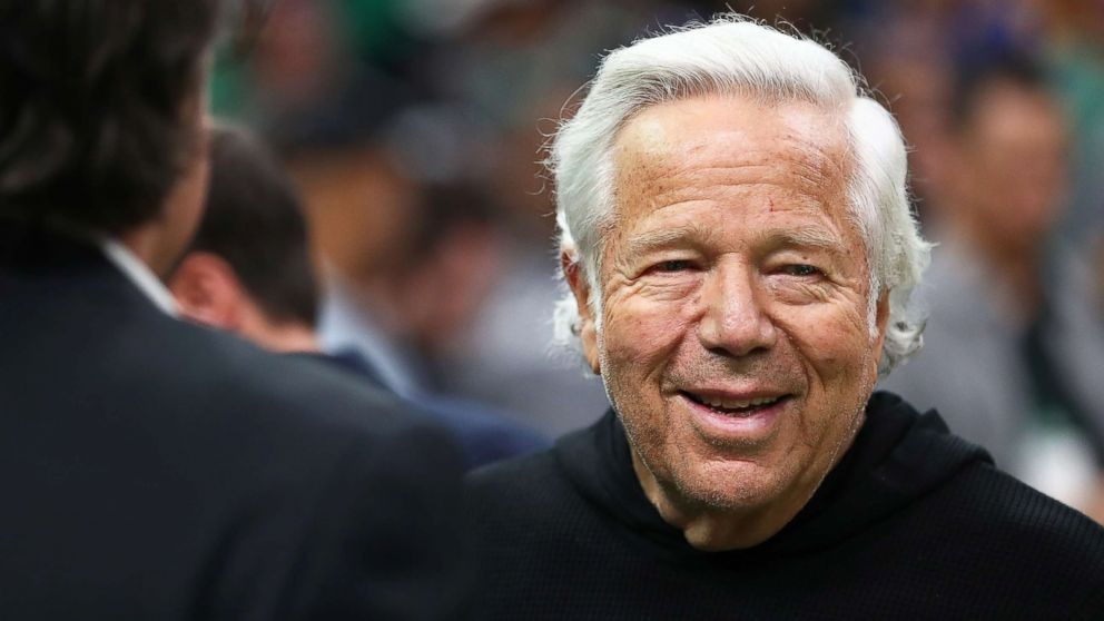 Robert Kraft, owner of the New England Patriots, is photographed before a game at TD Garden on Jan. 26, 2019 in Boston.