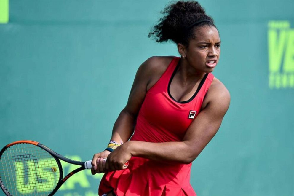 PHOTO: Robin Montgomery is in the Orange Bowl International Tennis Championships at the Veltri Tennis Center in Plantation, Fla.