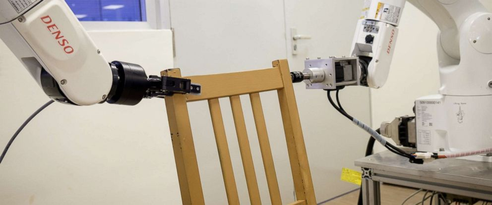 Furniture Building Robot Assembles Ikea Chair In Less Than
