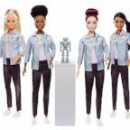 The new Robotics Engineer barbie comes in different ethnicities.