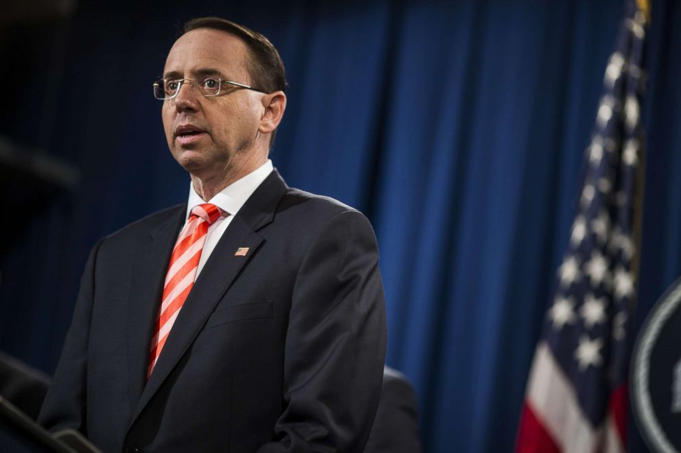 House speaker says does not back impeachment of Rosenstein