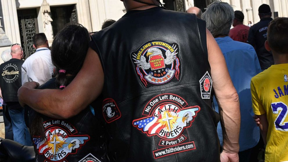 Hours before Memorial Day ride, Trump tweets Rolling Thunder will be back in 2020 thumbnail