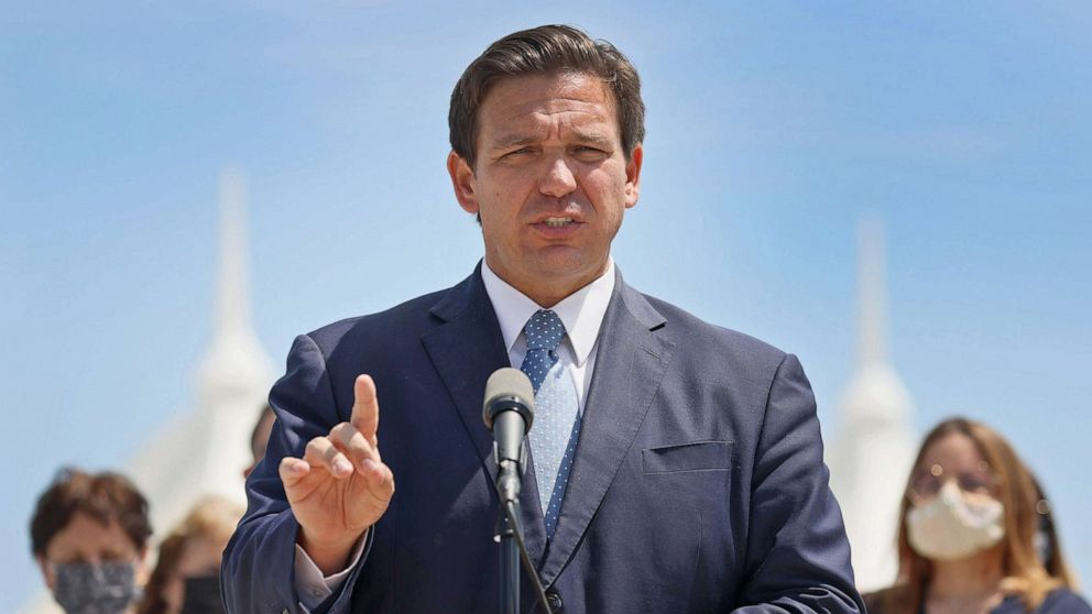 Florida officials denounce Gov. Ron DeSantis' lifting of COVID-19  restrictions - ABC News